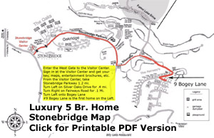 Printable PDF map to 5br home inside StoneBridge