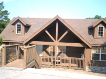 2 Br Luxury Roark Creek Stonebridge Cabins / 7 Cabins