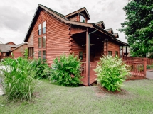 3 King Br Grand Mtn Luxury Log Cabin #318 / Bear Creek