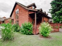 3 King Br Grand Mtn Luxury Log Cabin #318 / Bear Creek