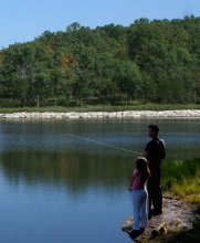 Father and Daughter Fishing | Branson Regal