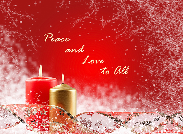 christmas cande light