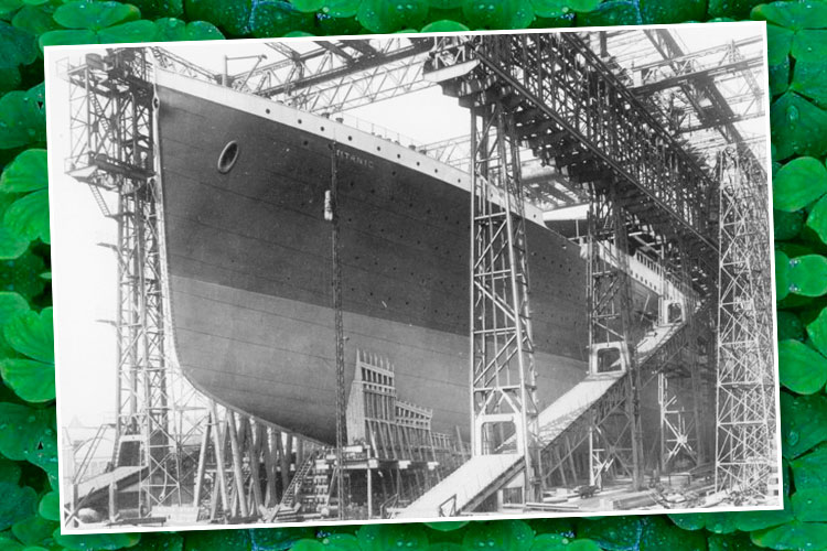 Titanic Construction - see it in Branson - March