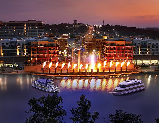 perfect getaway lodging in Branson, MO