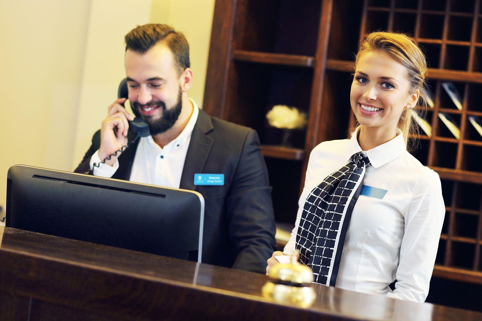 hotel attendant