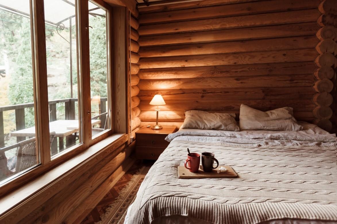 Branson Cabins: Morning Coffee
