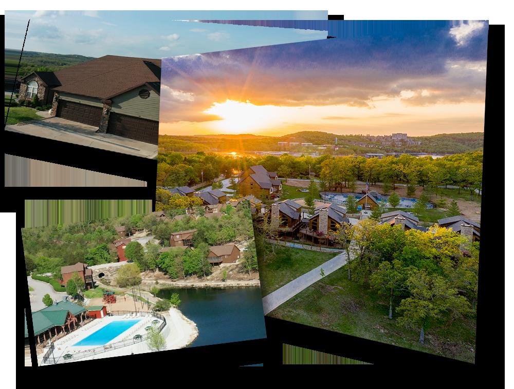 Branson Regal Properties Collage