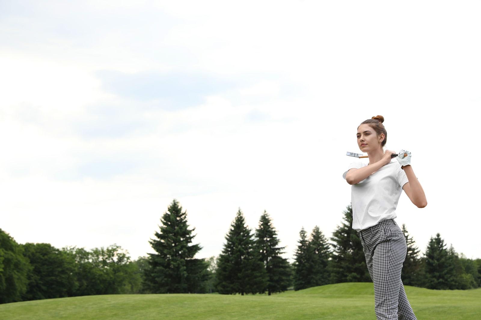 golf girl in branson mo